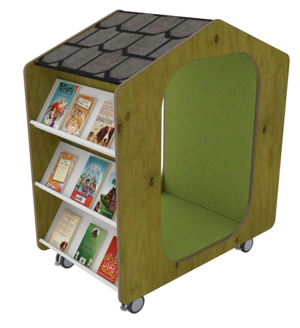 Book Hut Shelving