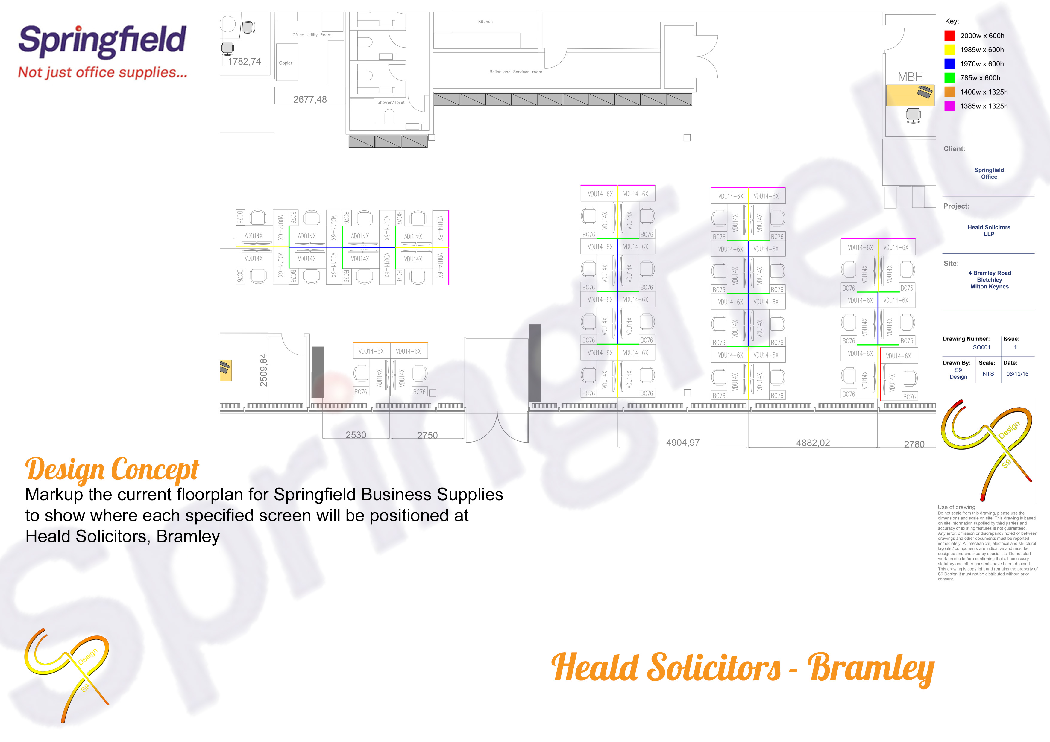 Springfield Business Supplies - Heald Solicitors, Bramley