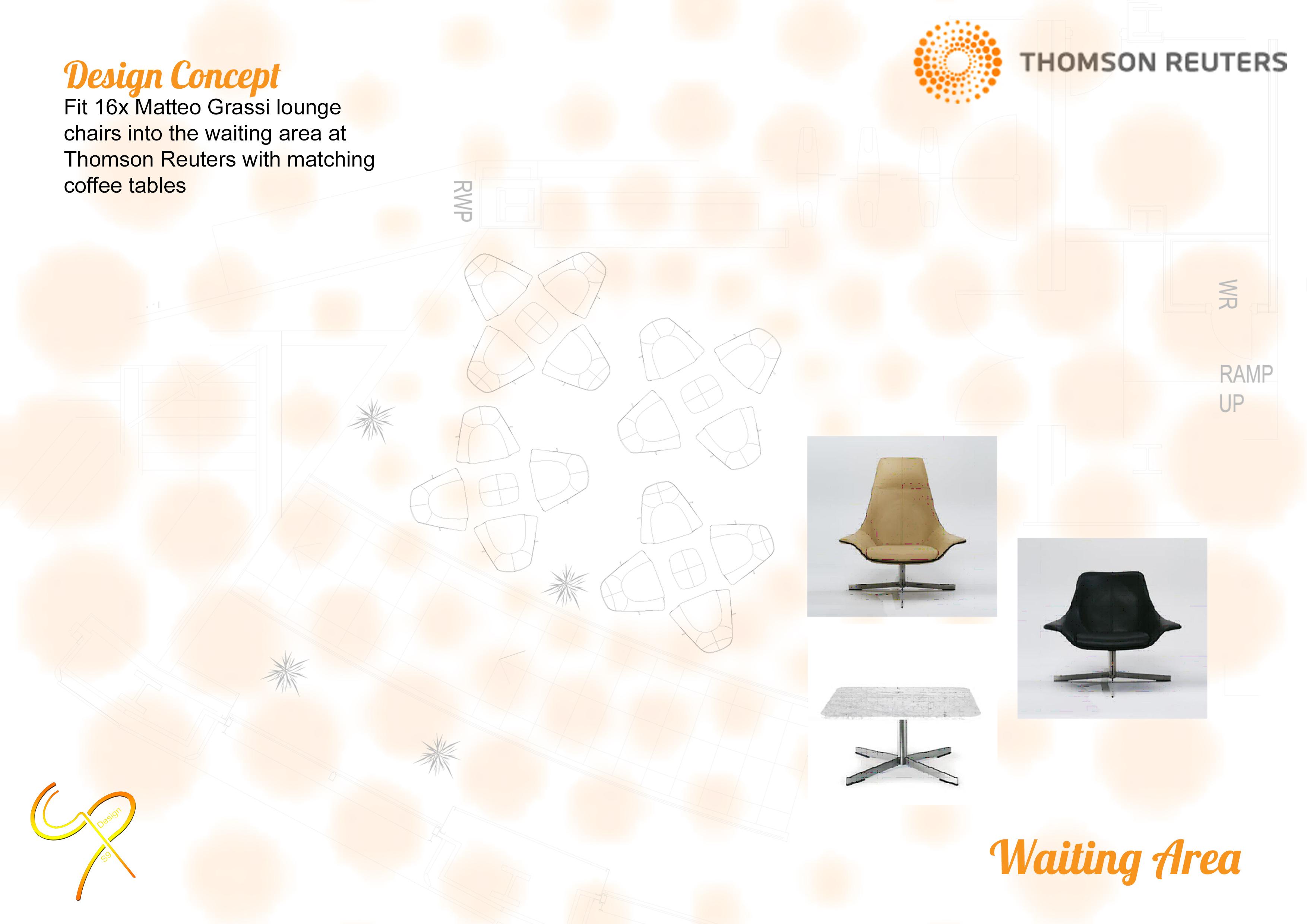 Thomson Reuters waiting area
