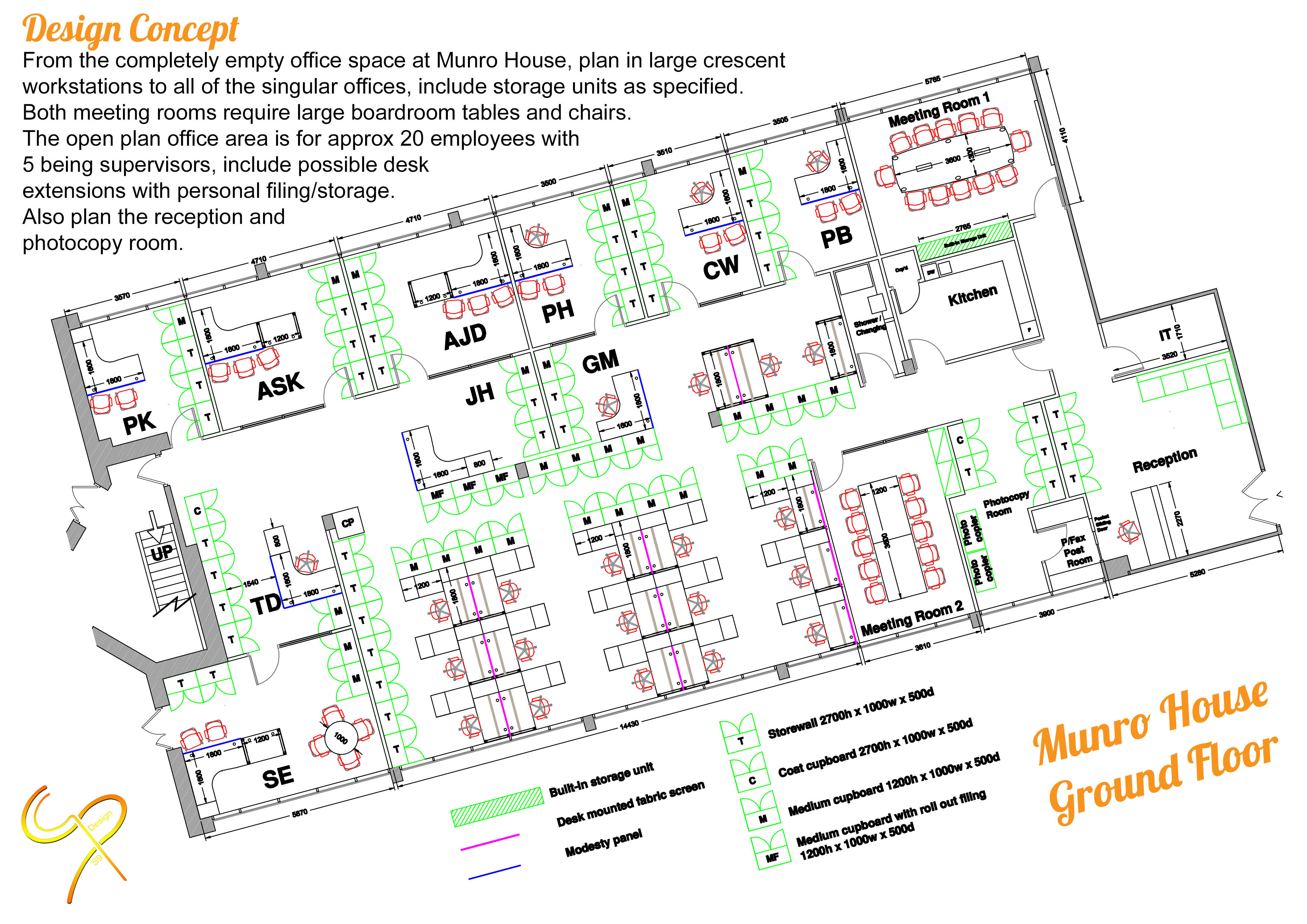 Munro House - Ground Floor