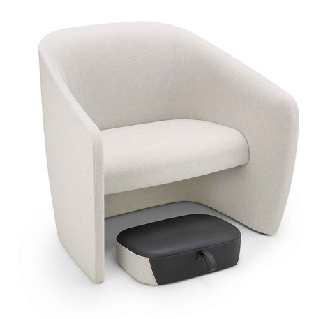 Mango Chair with Matching Footstool