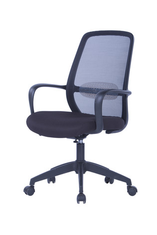 Soho Mesh Chair w/Black Frame