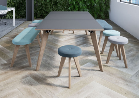 Plateau Rectangular Meeting Table