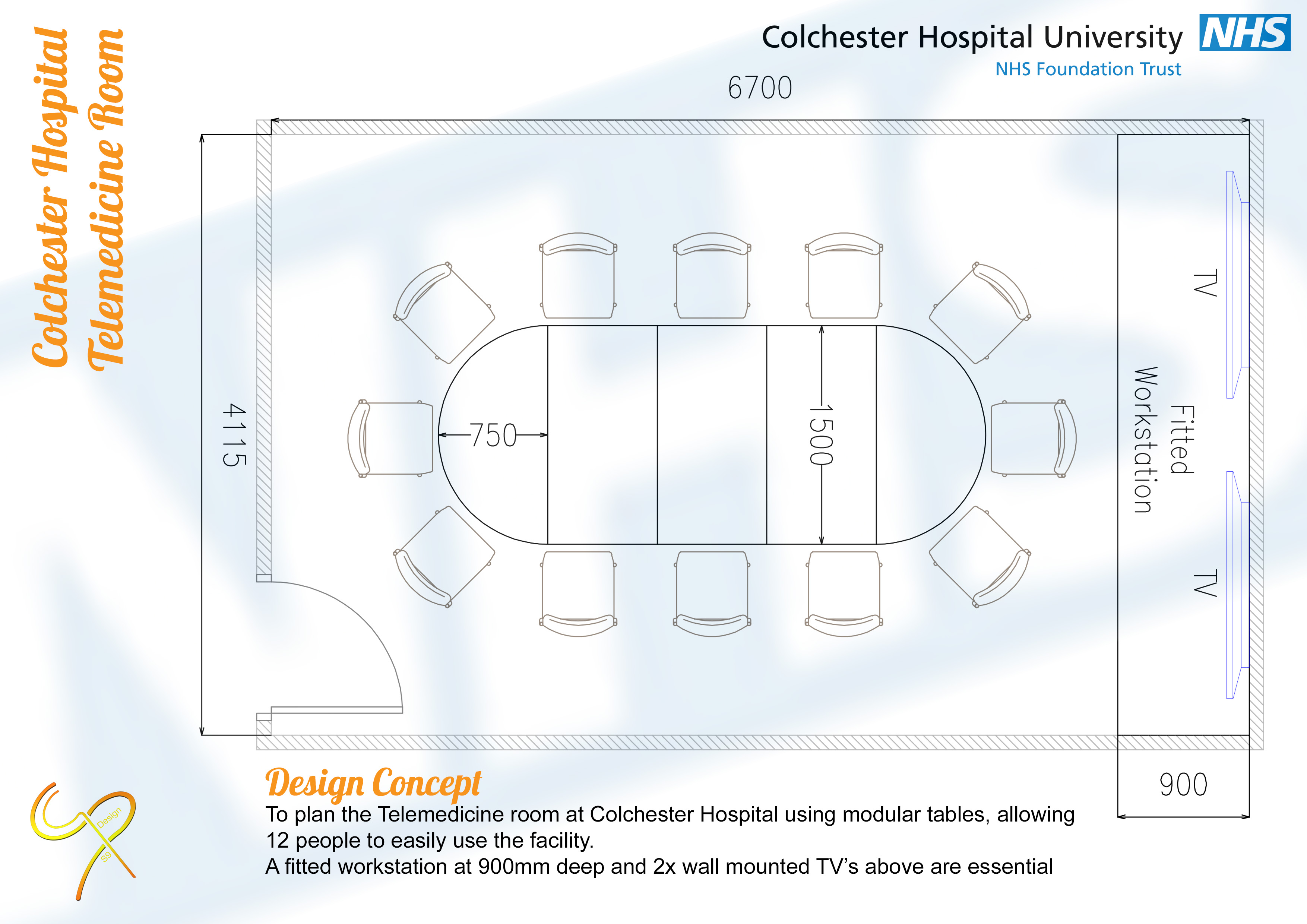 Colchester Hospital - Telemedicine Room