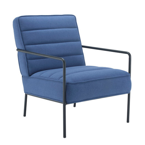 Jade Chair in Navy Upholstery