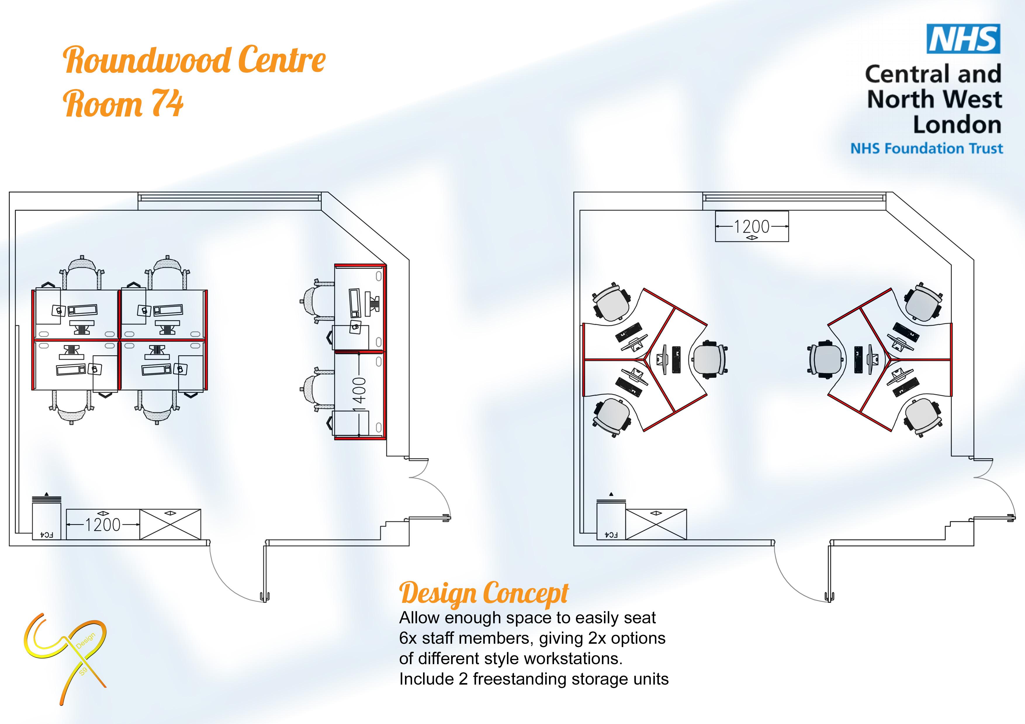 CNWL - Roundwood Centre, Room 74