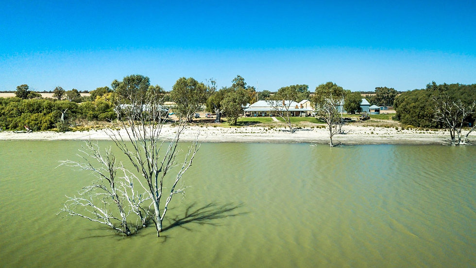 1. Workmens Quarters on the foreshore of