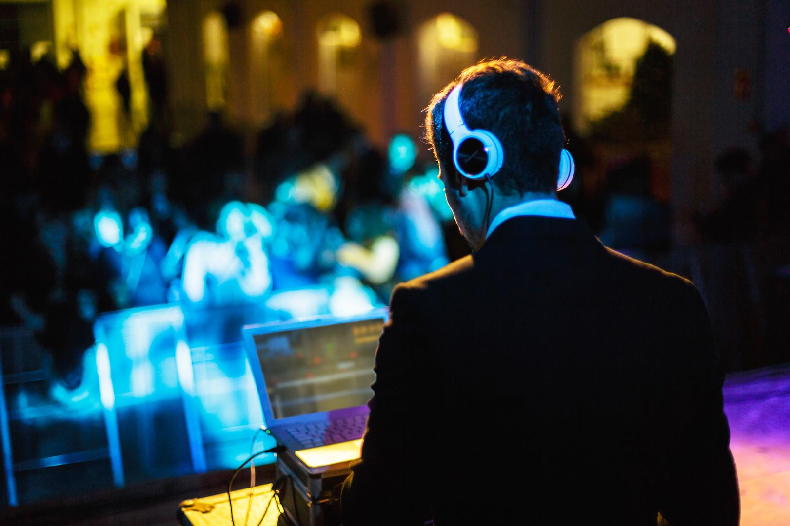 Evénturis, DJ de bodas