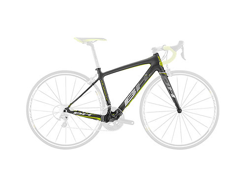 BH Quartz Frameset Black Yellow