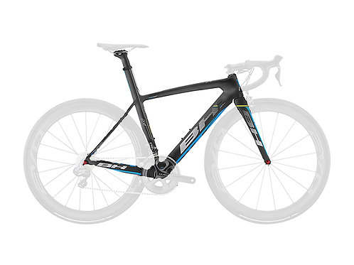 BH G6 Frameset Black Blue Yellow