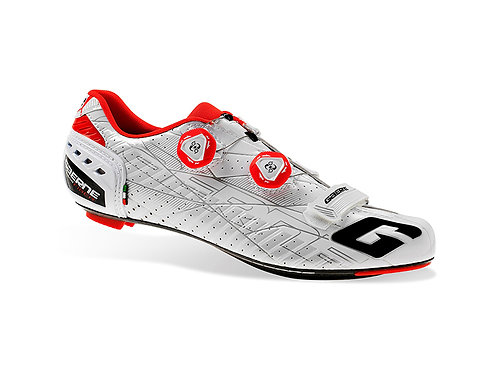 Gaerne G. Stilo WHITE RED Road Shoes
