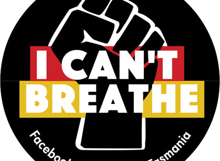 I CAN'T BREATHE BUMPER STICKER –CREATED BY THE PIN
