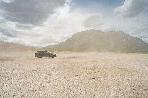 Abraham Lake Desert