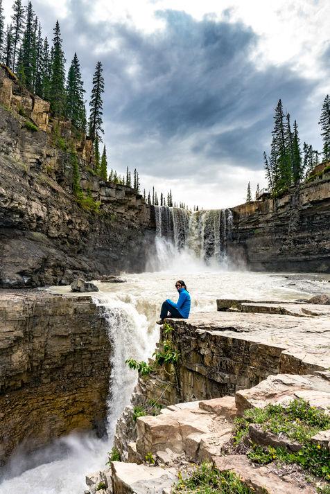 Cresent Falls Lower