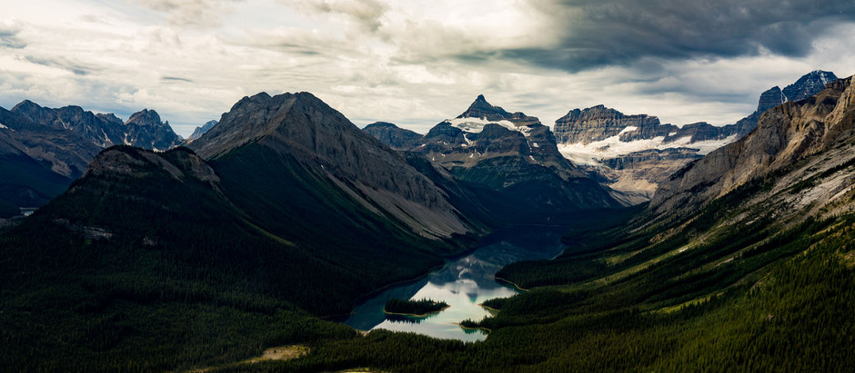 Atop Mount Assiniboine