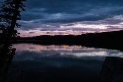 Fish Lake Sunset
