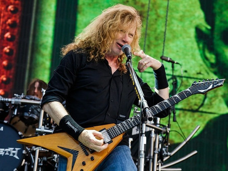Ny livebassist i Megadeth