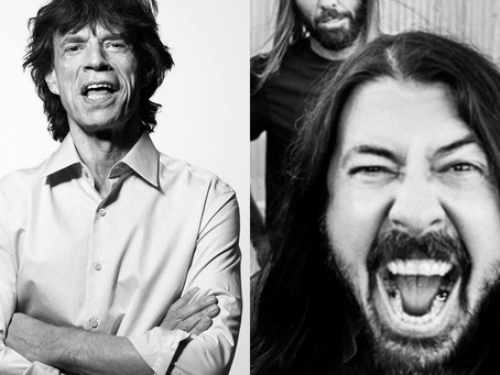 Jagger + Grohl = Sant