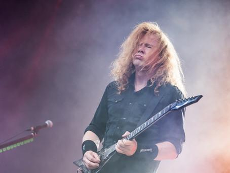 Megadeth er snart i mål