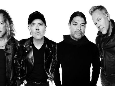 Metallica til Europa i 2022