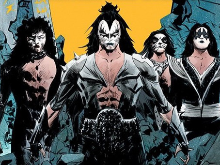 Kiss blir til tegneserie