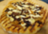 Grilled Pizza with Caramelized Onions, F