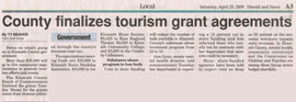 Tourism grant agreements
