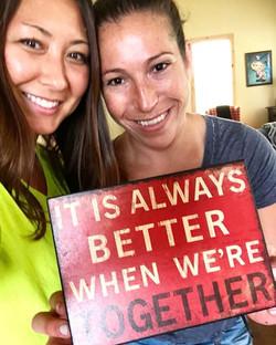 My cousin Nikki & I