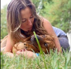 Me & my dog Dallas