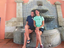 My sister & I in Puerto
