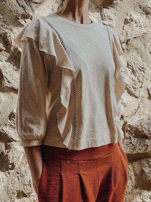blusa MAIA natural