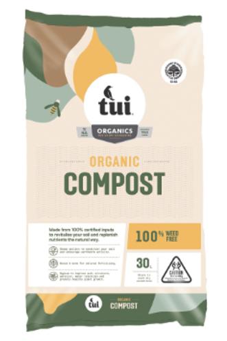 Compost Organic  Tui 30 litre