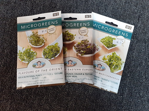 Microgreen seeds Hot and spicy mix