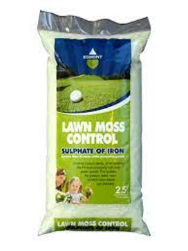 Lawn moss control Sulphate Iron