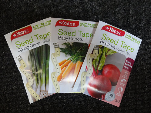 Carrot Baby seed tape  Yates
