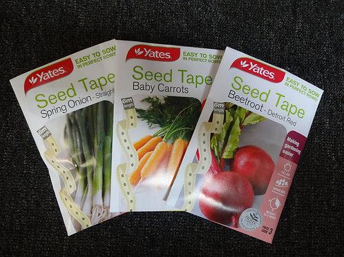Beetroot seed tape Yates