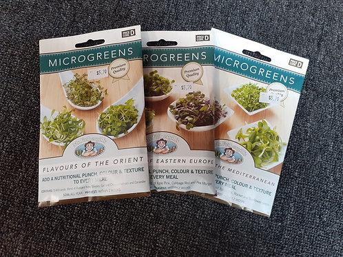 Microgreen seeds Snow Peas MRF