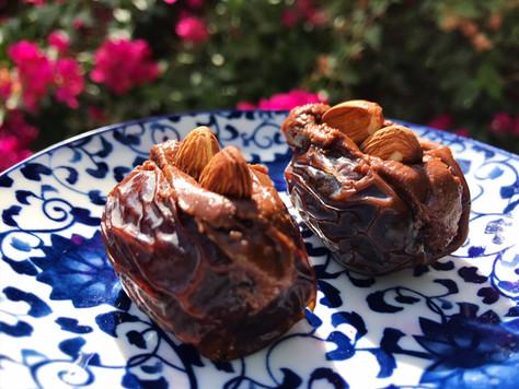 Chocolate Almond Dates