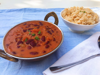 Tangy Kidney Bean Curry