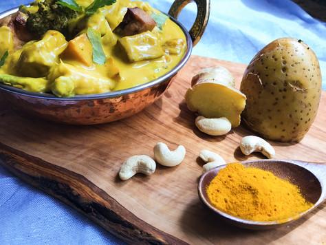 Silky Turmeric Curry