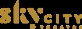 SkyCity Theatre Logo Horizontal Gold RGB