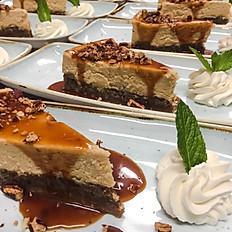 Pecan Pie-Layered Cheesecake