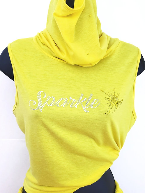 Sparkle Shorts Set (Yellow)