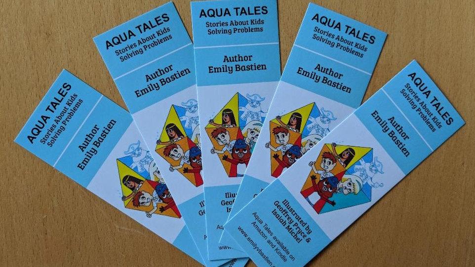 5 Aqua Tales Bookmarks