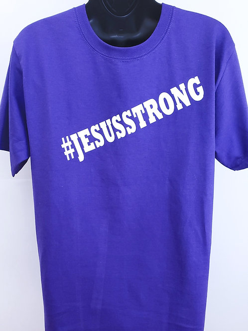 Jesus Strong ADULT T-Shirt