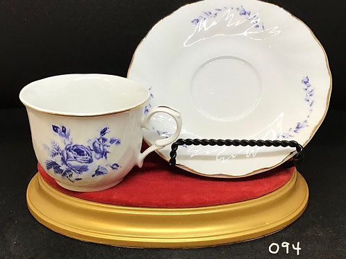 Truly Tasteful Tea Cup and Saucer (094)