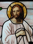 Jesus East Choir Loft Window