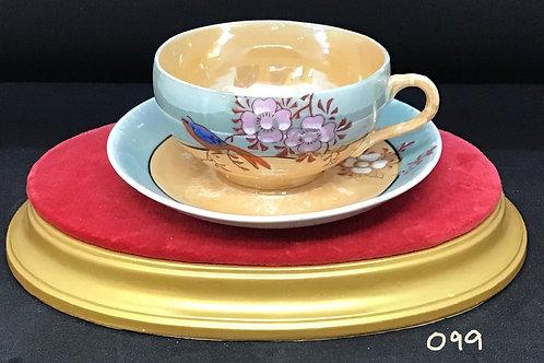 Tea Cup and Saucer , Japan (099)