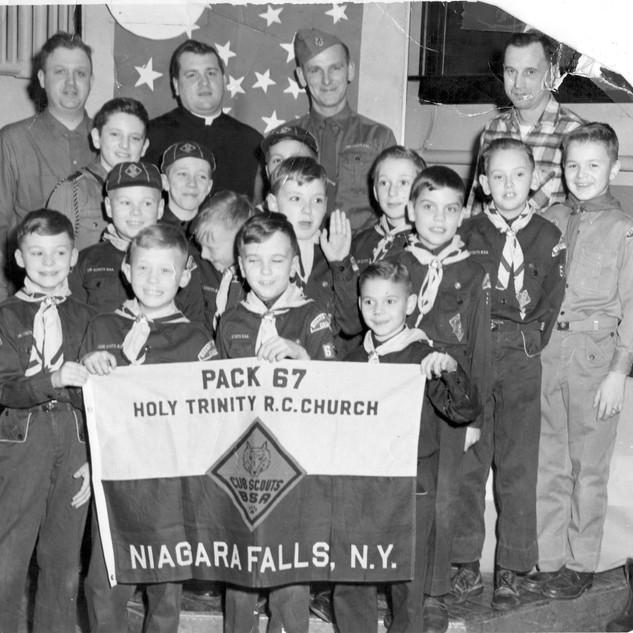 HT Cub Scouts Pack 67 1960s
