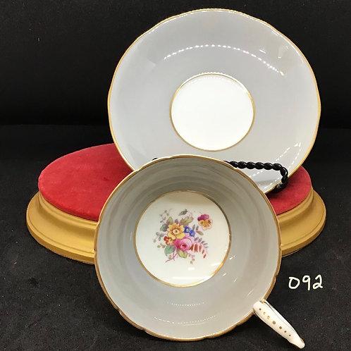 Coal Port Bone China Tea Cup and Saucer A.D./750 (092)
